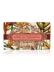 Aromas Artesanales De Antigua AAA Floral Soap Bar - Triple Milled - Bird of Paradise