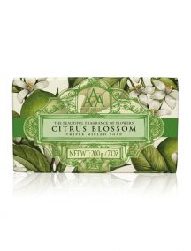 Aromas Artesanales De Antigua AAA Floral Soap Bar - Triple Milled - Citrus Blossom