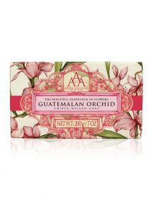 Aromas Artesanales De Antigua AAA Floral Soap Bar - Triple Milled - Guatemalan Orchid