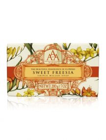 Aromas Artesanales De Antigua AAA Floral Soap Bar - Triple Milled - Sweet Freesia