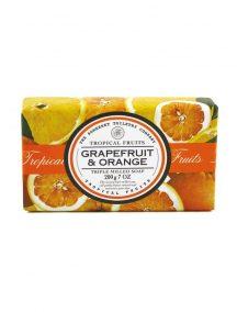 Tropical Fruits Triple Milled Soap - Grapefruit & Orange