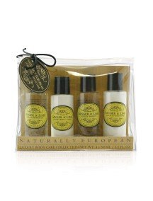 Naturally European Travel Toiletries Collection - Ginger & Lime