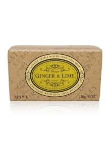 Naturally European Luxury Triple Milled Vegetable Soap - Ginger & Lime