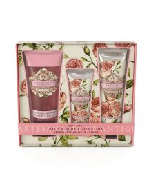 Aromas Artesanales de Antigua AAA Floral Bath & Body Collection - Rose Petal