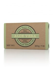 Delray Beach Triple Milled Vegetable Soap Bar - Aloe Vera
