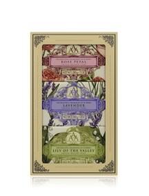 Aromas Artesanales De Antigua AAA Assorted Floral Soap Gift Set