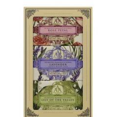 Aromas Artesanales De Antigua AAA Assorted Floral Soap Gift Set