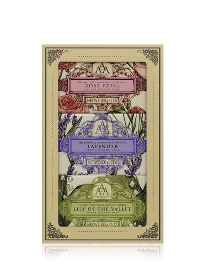 Aromas Artesanales De Antigua AAA Assorted Floral Soap Gift Set  sc 1 st  The Somerset Toiletry Company & Soap Gift Set - Aromas Artesanales de Antigua - Triple Milled