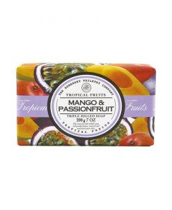 Tropical Fruits Triple Milled Soap - Mango & Passion Fruit