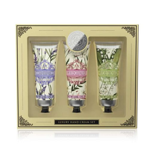 Aromas Artesanales De Antigua Assorted AAA Floral Hand Cream Gift Set