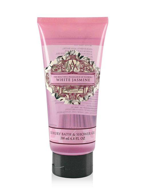 Aromas Artesanales de Antigua AAA Bath & Shower Gel - White Jasmine
