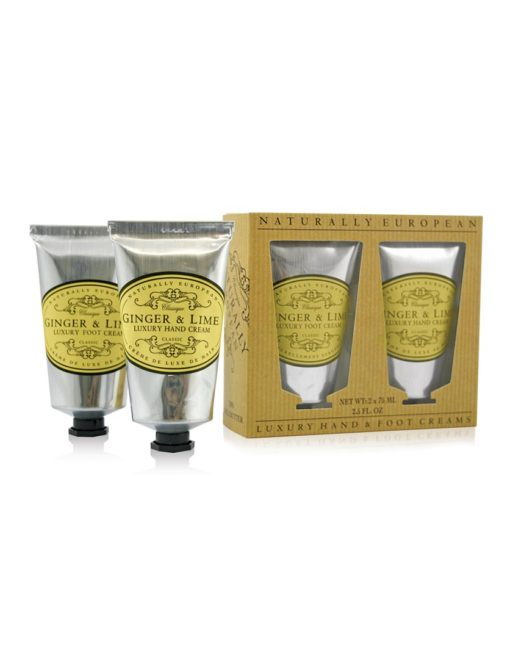 Naturally European Hand & Foot Collection - Ginger & Lime