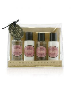 Naturally European Travel Toiletries Collection - Rose Petal