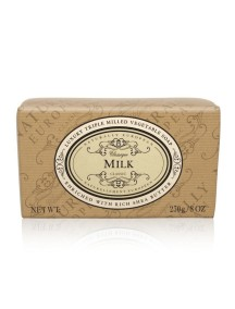 Naturally European Luxury Triple Milled Vegetable Soap - Milk