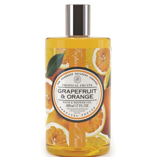 Tropical Fruits Bath and Shower Gel - Grapefruit & Orange