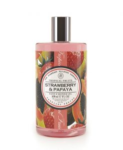 Tropical Fruits Bath and Shower Gel - Strawberry & Papaya
