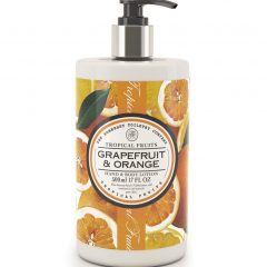 Tropical Fruits Hand and Body Lotion - Grapefruit & Orange