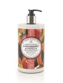 Tropical Fruits Hand and Body Lotion - Strawberry & Papaya