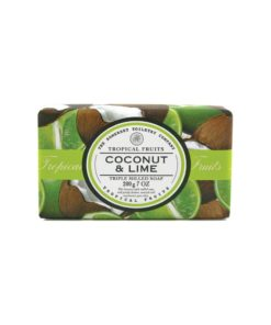 Tropical Fruits Soap Triple Milled - Coconut & Lime