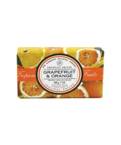 Tropical Fruits Soap Triple Milled - Grapefruit & Orange