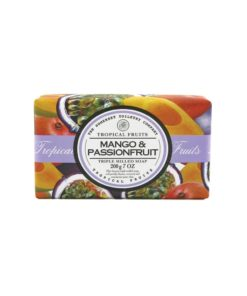 Tropical Fruits Soap Triple Milled - Mango & Passion Fruit
