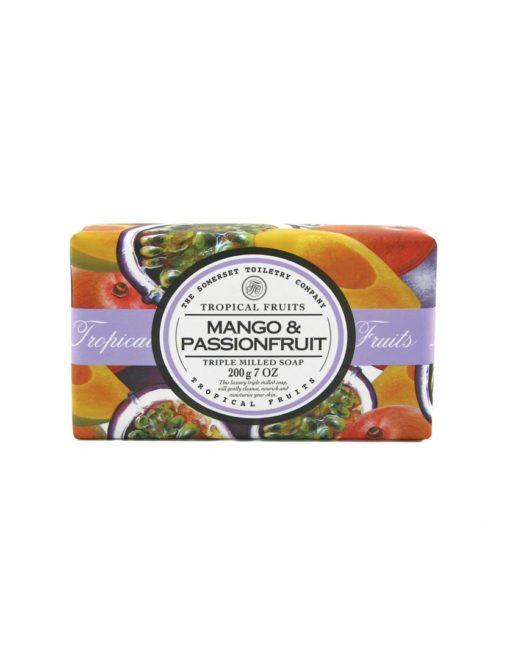 Tropical Fruits Soap Triple Milled - Mango & Passion Fruit