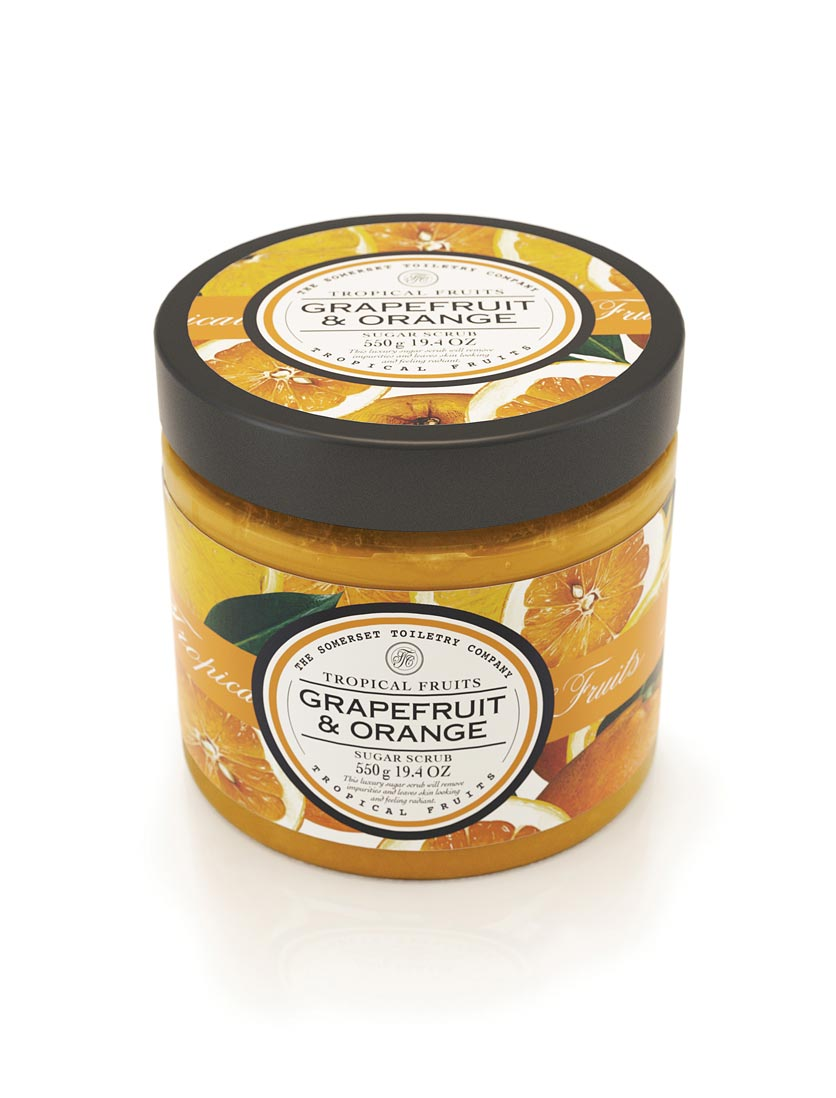Tropical Fruits Sugar Scrub - Grapefruit & Orange
