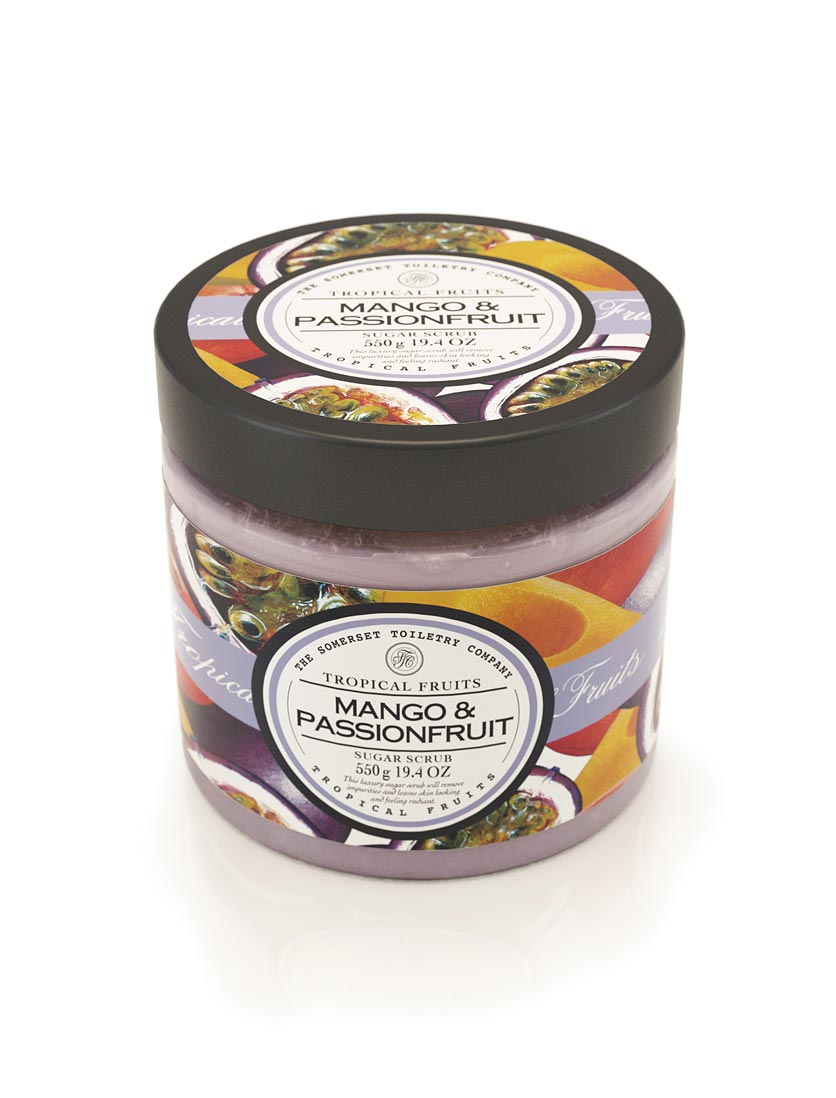 Tropical Fruits Sugar Scrub - Mango & Passion Fruit