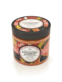 Tropical Fruits Sugar Scrub - Strawberry & Papaya