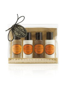 Naturally European Travel Toiletries Collection - Neroli & Tangerine