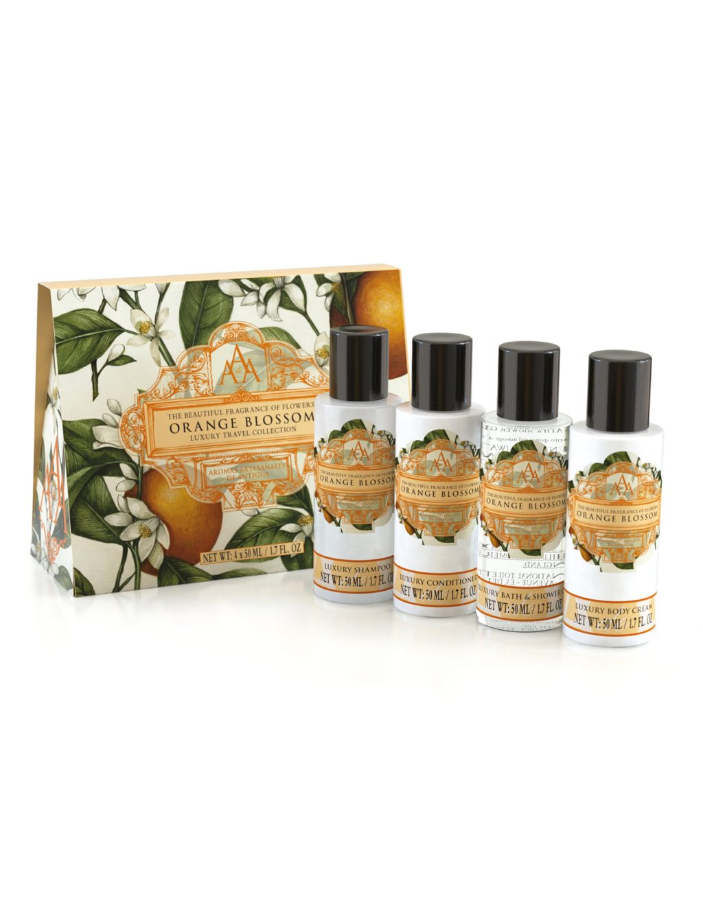 Aromas Artesanales de Antigua Travel Collection - Orange Blossom
