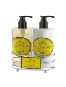 Naturally European Luxury Hand Care Caddy - Ginger & Lime