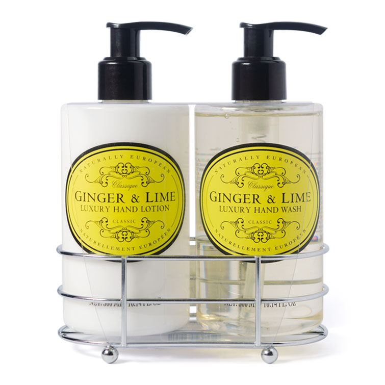 Naturally European Hand Care Caddy Ginger and Lime