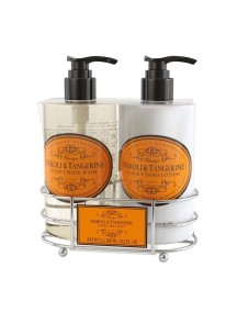Naturally European Luxury Hand Care Caddy - Neroli & Tangerine