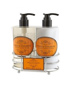 Naturally European Luxury Hand Care Caddy Neroli and Tangerine