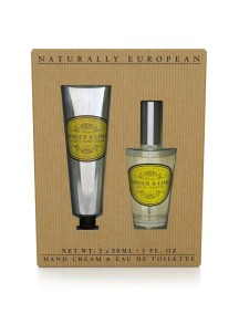 Naturally European Hand Cream & Fine Fragrance Bespoke Collection - Ginger & Lime