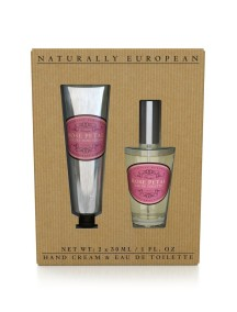 Naturally European Hand Cream & Fine Fragrance Bespoke Collection - Rose Petal