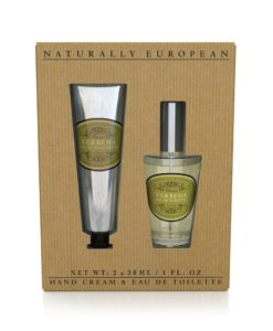 Naturally European Hand Cream and perfume Collection Verbena