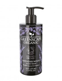 Greenscape Organic Hand Wash - Lavender Wood - Soil Association - Cosmos Organic