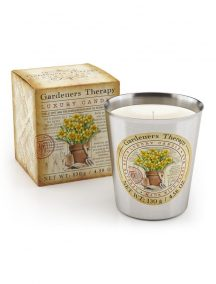 Gardeners Thearpy Luxury Scented Candle - Peppermint, Rosemary & Lavender