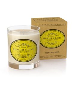Naturally European Luxury Scented Candle Ginger and Lime