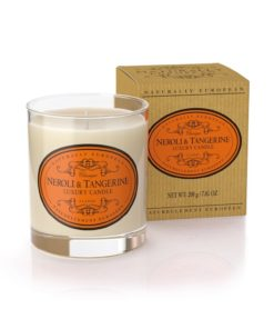 Naturally European Luxury Scented Candle Neroli and Tangerine