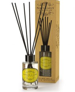 Naturally European Room Diffuser Ginger and Lime