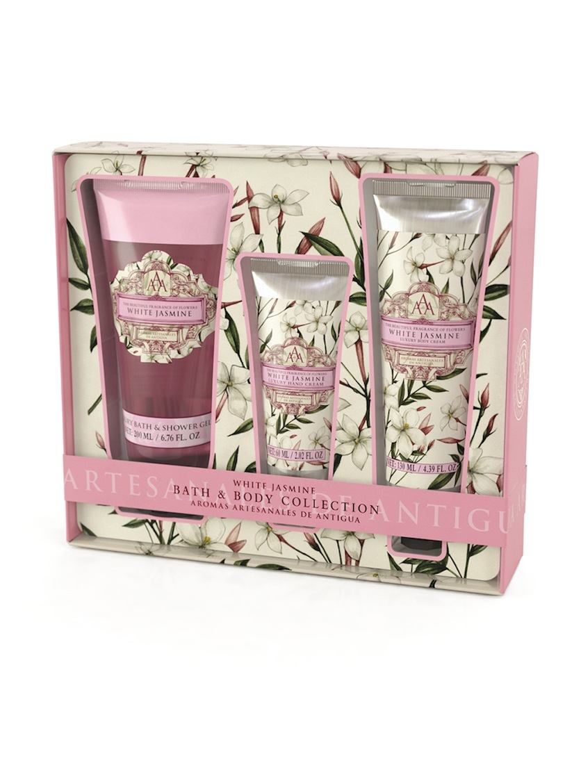 AAA Bath u0026 Body Collection u2013 White Jasmine  sc 1 st  The Somerset Toiletry Company & White Jasmine Bath and Body collection | AAA | The Somerset Toiletry Co