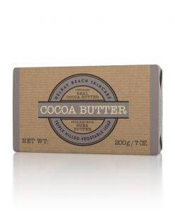 Delray Beach Triple Milled Vegetable Soap Bar - Cocoa Butter