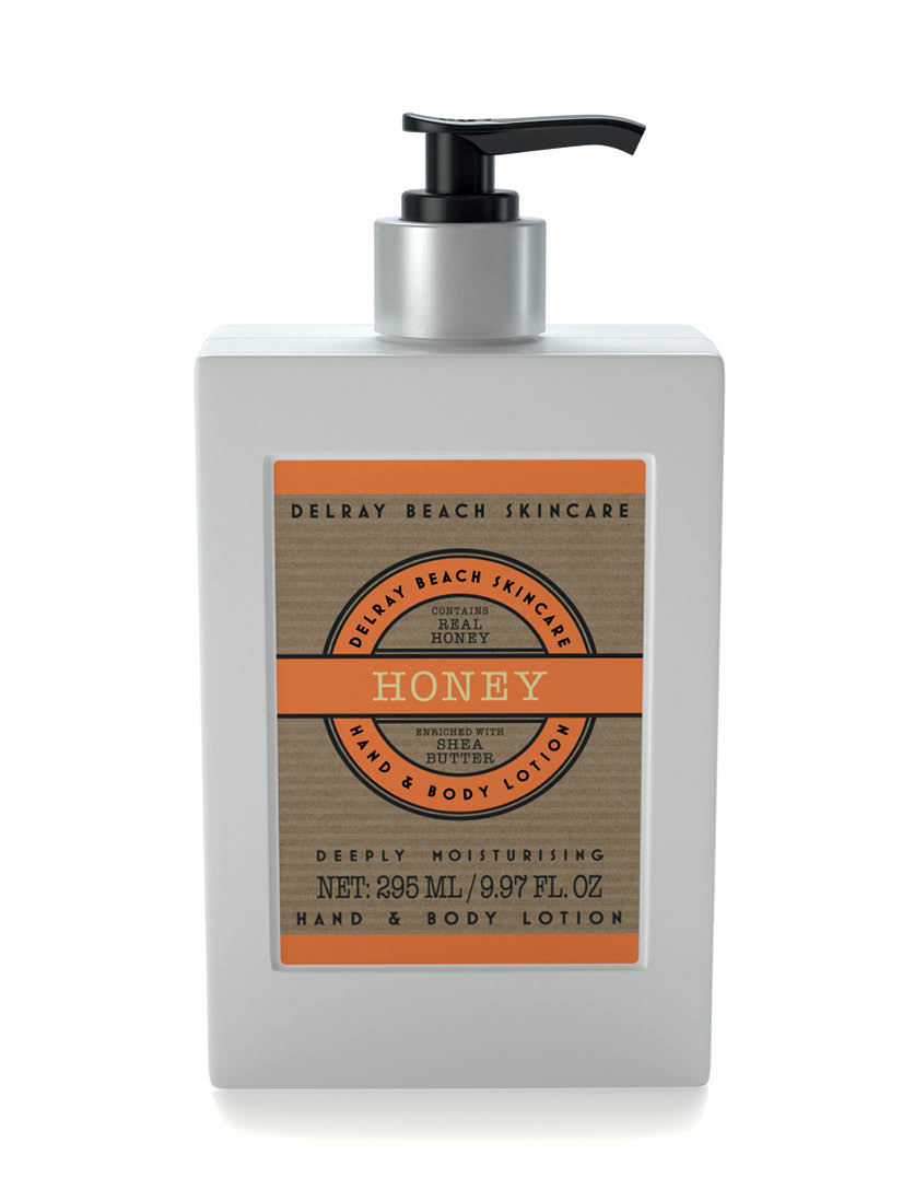 Delray Beach Hand and Body Lotion - Honey