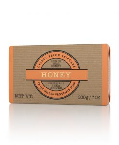 Delray Beach Triple Milled Vegetable Soap Bar - Honey
