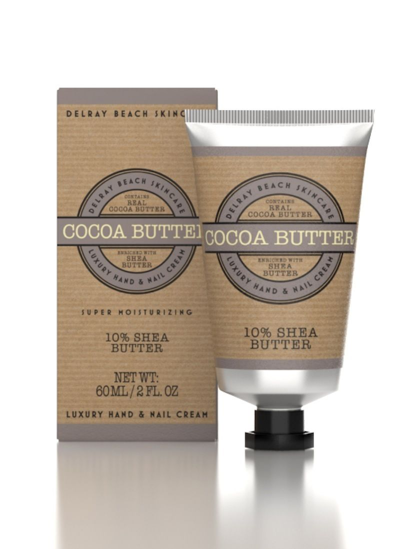 Delray Beach Luxury Hand and Nail Cream - Cocoa Butter