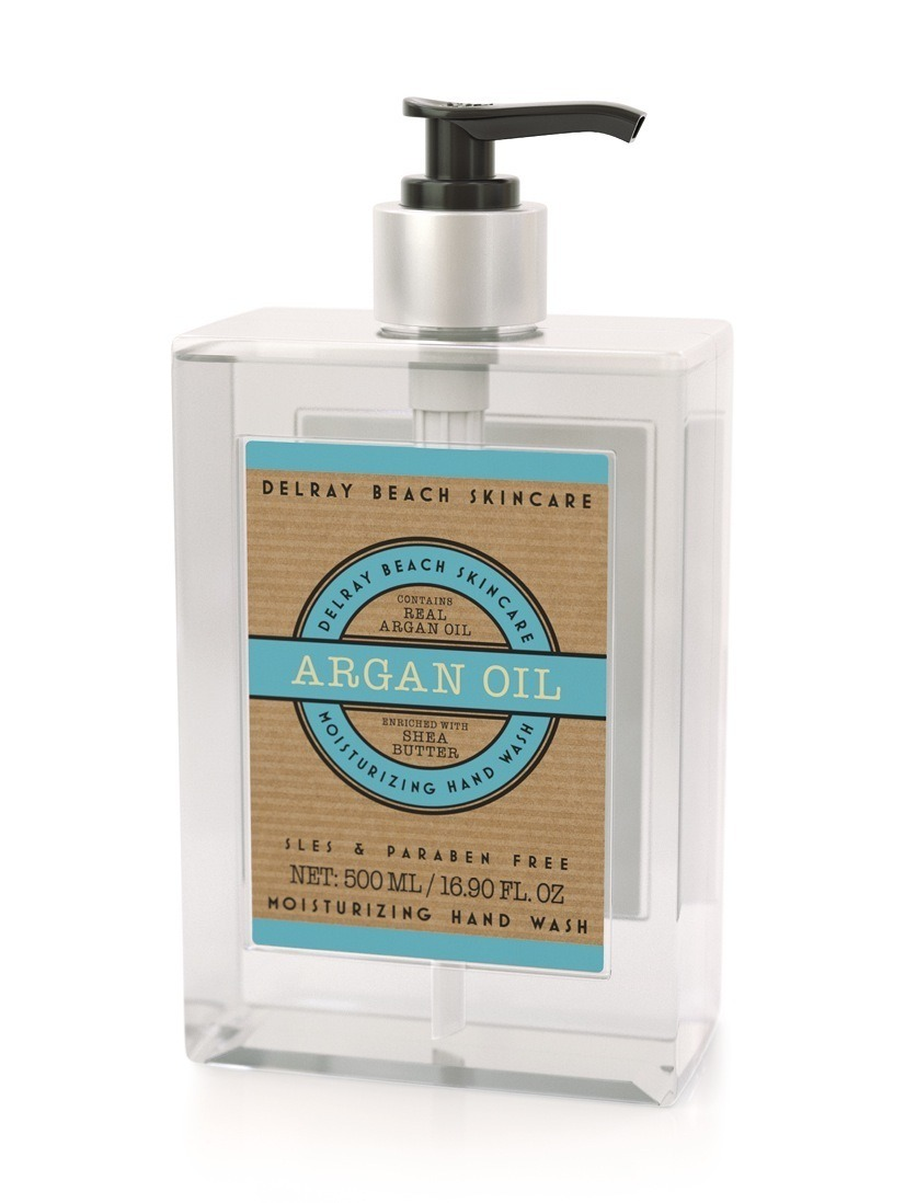 Delray Beach Moisturising Hand Wash - Argan Oil