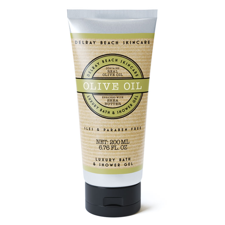 Delray Beach Luxury Bath and Shower Gel - Olive Oil
